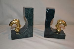 Fish book ends