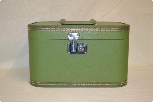 Green Make Up Suitcase